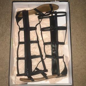 BCBG gladiator sandals